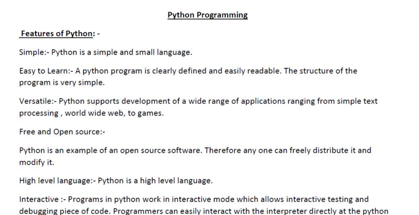 Python notes-1