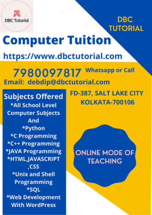 School and College Computer Courses